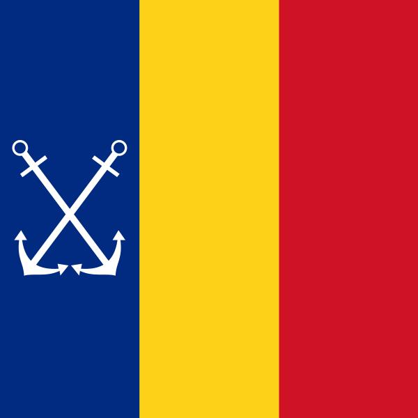 Quân đội các nước Châu Âu 600px-Naval_Jack_of_Romaniasvg1