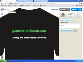 Gamenation Forums - Front Page GameNationShirtB