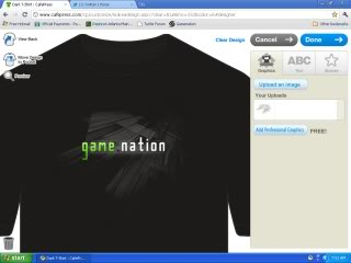 Gamenation Forums - Front Page GameNationShirtF