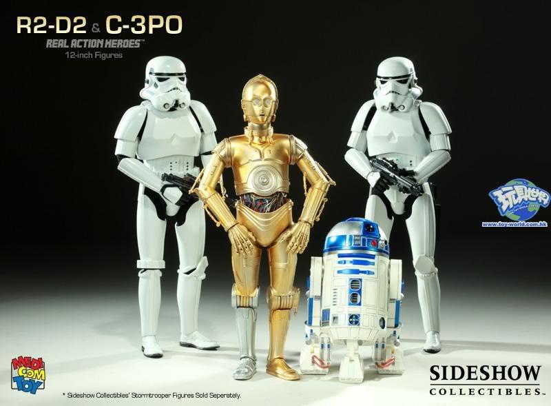 STAR WARS - R2-D2 deluxe MedicomC3POR2