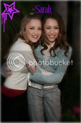 Miley i Emily Hannahmontana107