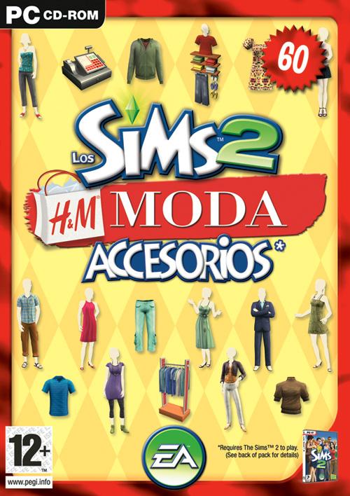 Pack de Accesorios: Los Sims 2: H&M Moda / H&M Fashion Hmmodaportada_zps37dd7c37