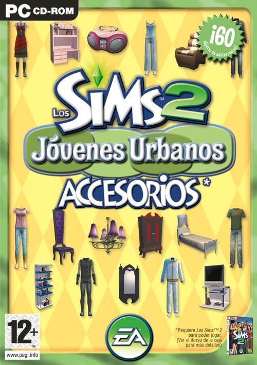 Pack de Accesorios: Los Sims 2: Jóvenes Urbanos / Teen Style  Jovenesurbanosportada_zps96a6bedd