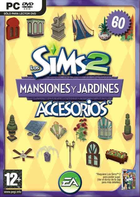 Pack de Accesorios: Los Sims 2: Mansion y Jardines / Mansion and Garden  Mansionesyjardinesportada_zps1b8a72d4