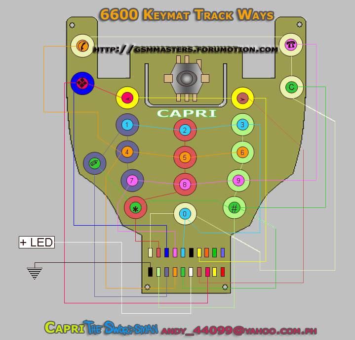 keypad & joystick ways 6600ke10