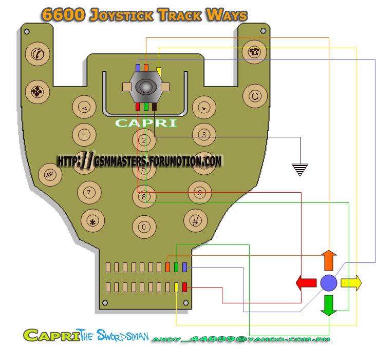 keypad & joystick ways 6600ke11