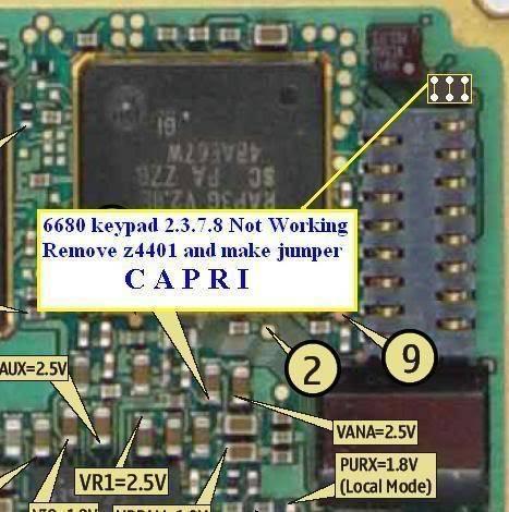 keypad & joystick ways 668020keypad