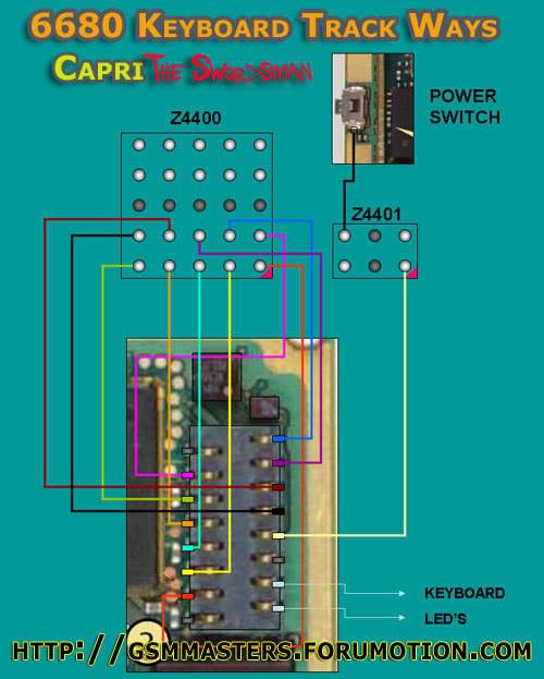 keypad & joystick ways 6680keypadjumpertj4