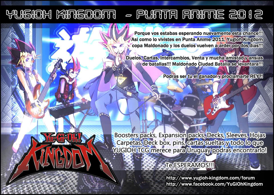 Punta Anime 2012 !!! Kingdom como siempre!!!! YKNFPA2012