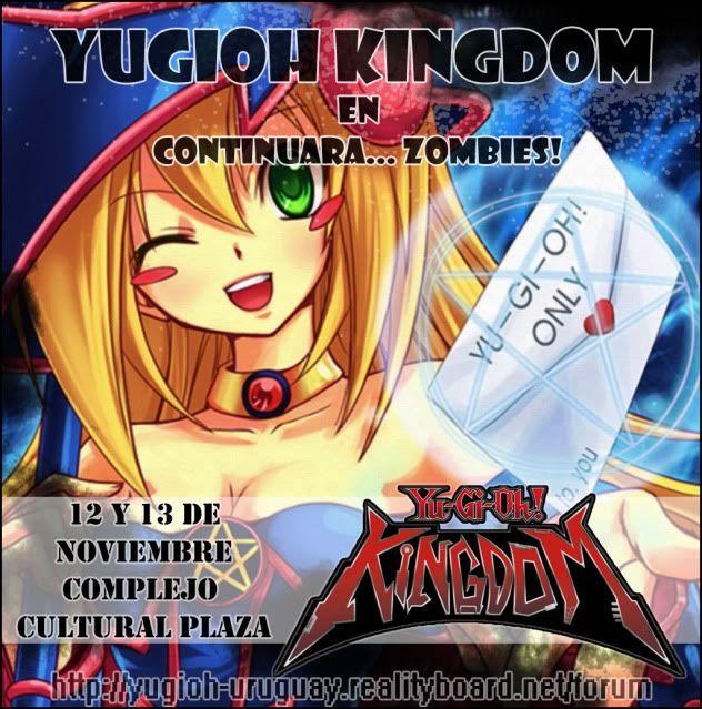 Yugioh Kingdom - Continuara 2011 - 12 y 13 de Noviembre Contiyugi