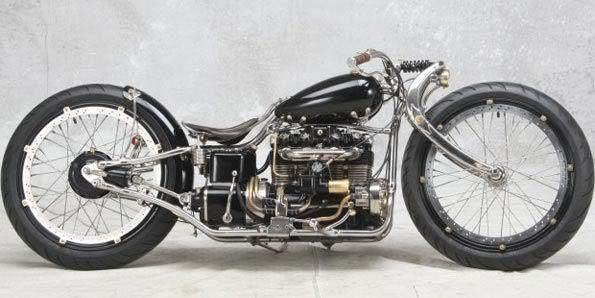 Americano vence concurso mundial de motos customizadas Cariu2