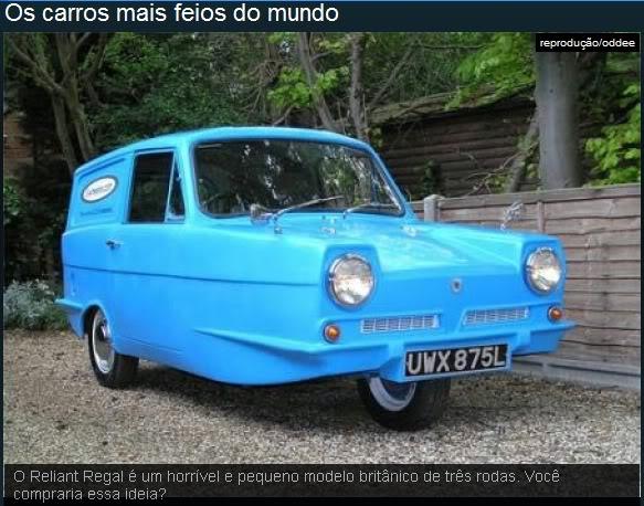 Os carros mais feios do mundo! Ea10