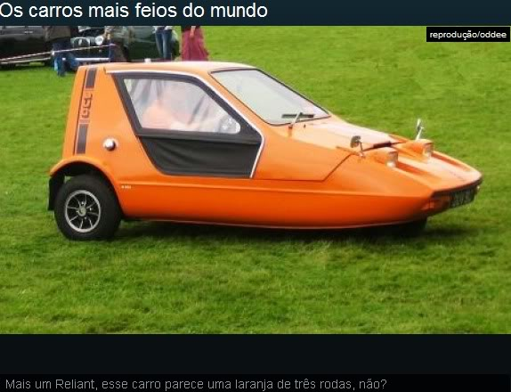 Os carros mais feios do mundo! Ea12