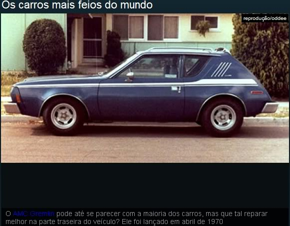 Os carros mais feios do mundo! Ea7