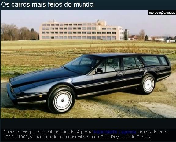 Os carros mais feios do mundo! Ea8