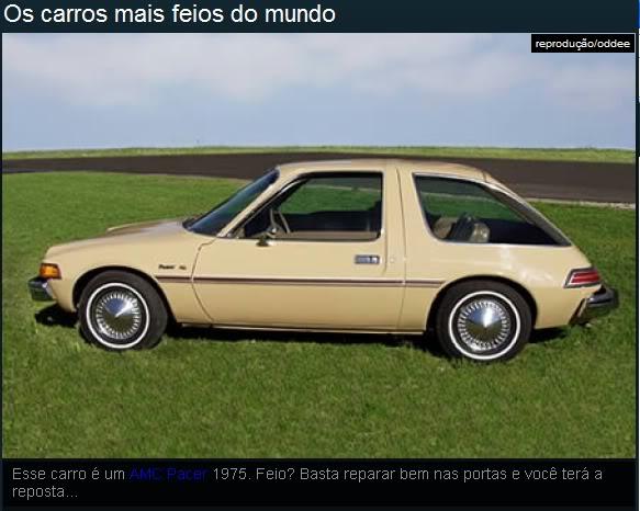 Os carros mais feios do mundo! Ea9