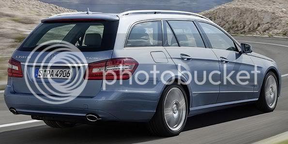 Mercedes-Benz divulga fotos da nova station wagon Classe E Pontocon1