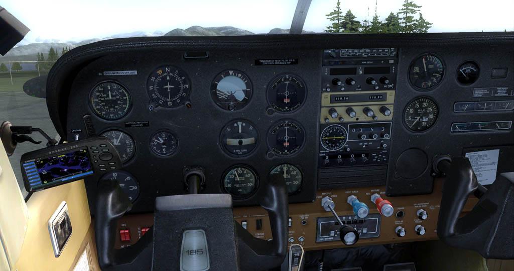 Carenado Cessna 185 --- alle Varianten (von UDO) 185-2012-oct-26-009