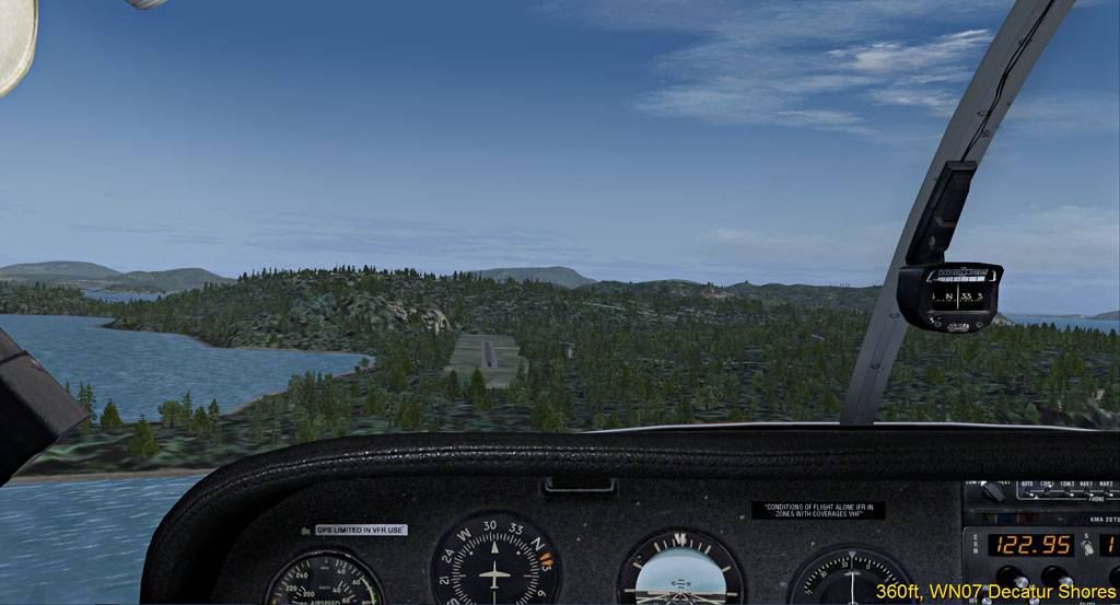 Dirtstrips Rund um Friday Harbor - FS9 FSA-2017-apr-2-001