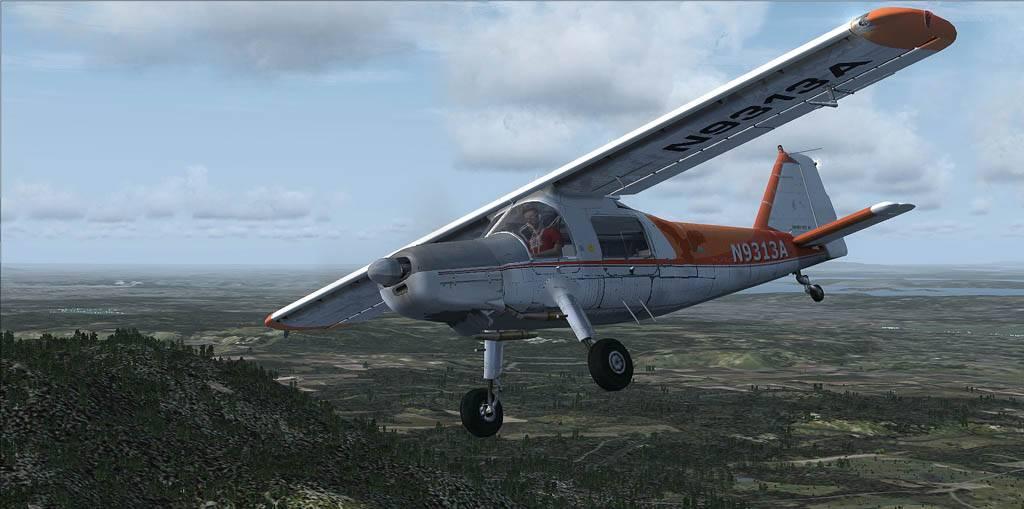 DO-27 Flug mit Handicap Darrington-2014-may-26-002