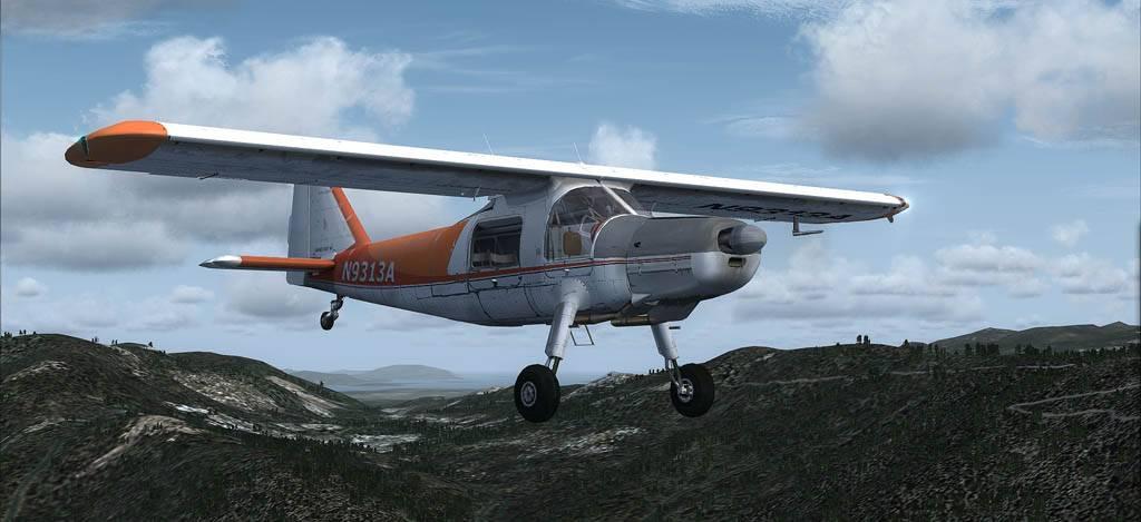 DO-27 Flug mit Handicap Darrington-2014-may-26-003