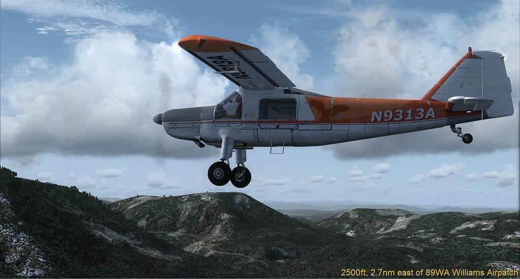 DO-27 Flug mit Handicap Darrington-2014-may-26-004