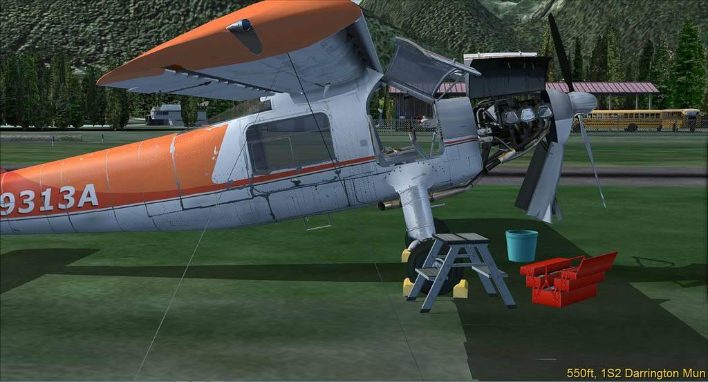 DO-27 Flug mit Handicap Darrington-2014-may-26-007