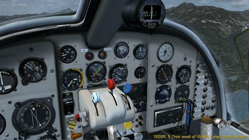 DO-27 Flug mit Handicap Darrington-2014-may-26-009
