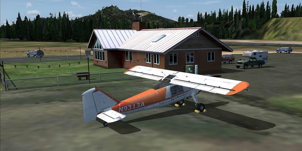 DO-27 Flug mit Handicap Darrington-2014-may-26-010