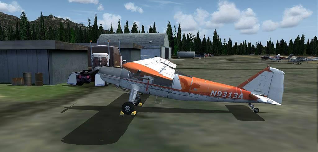 DO-27 Flug mit Handicap Darrington-2014-may-26-011