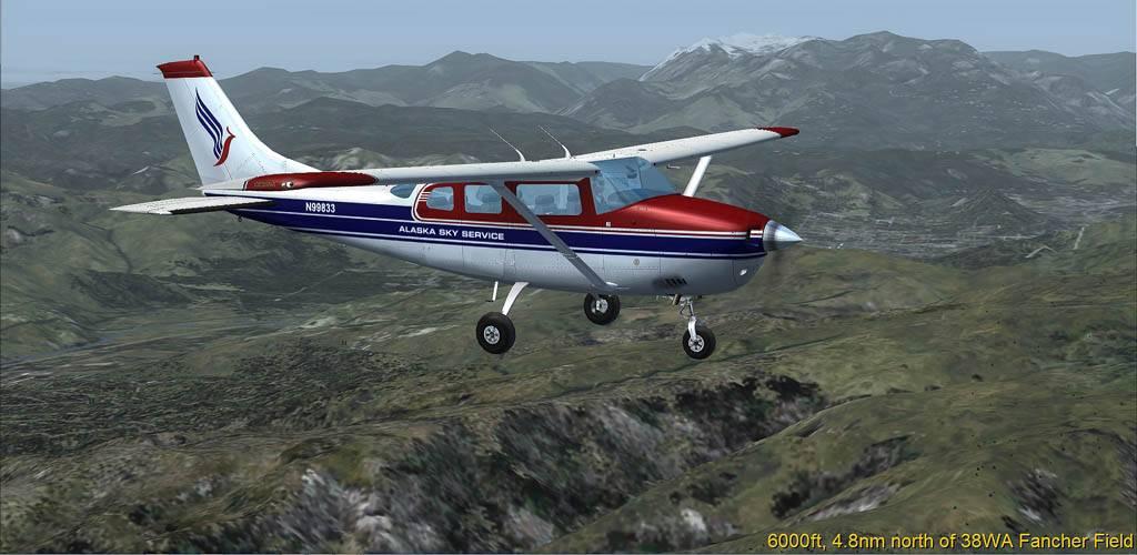 Cessna 206 mit ASS Lackierung Wash-2014-may-23-002