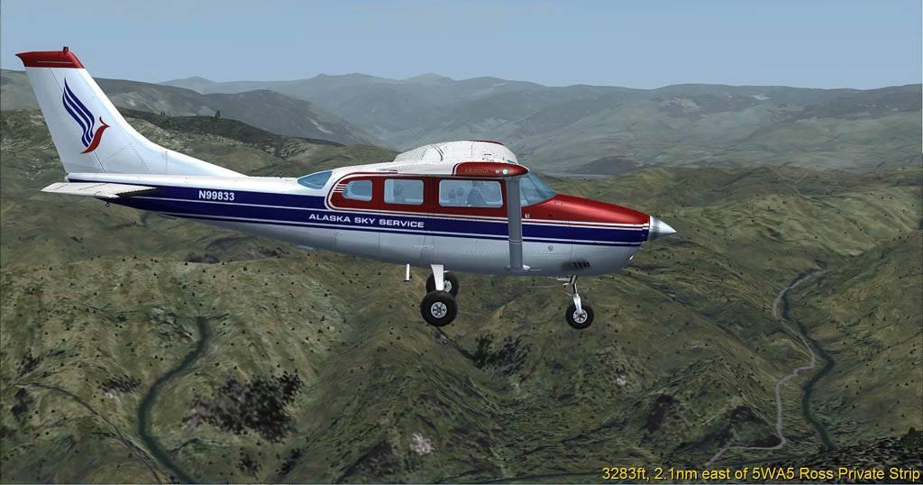 Cessna 206 mit ASS Lackierung Wash-2014-may-23-005