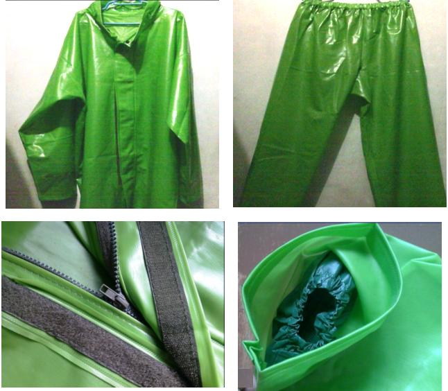 For Sale: Kapote Jacket and Pants Raincoat