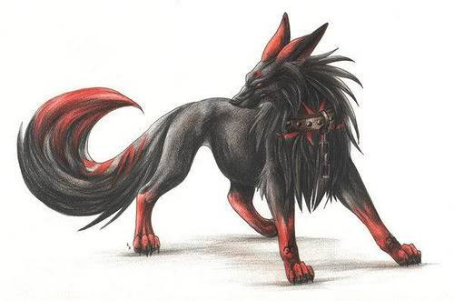 Tsuchi the akuma Dog