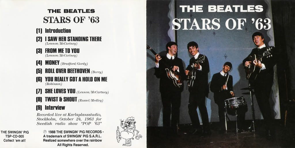 Beatles (Rarities & Bootlegs) Stars63-1