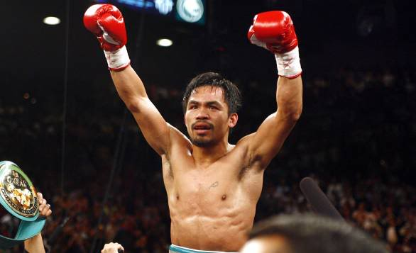 Pacquiao entering realm of all-time great 1981_586