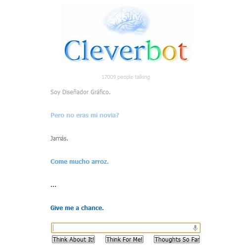 Cleverbot... y sus cosas raras 00xf