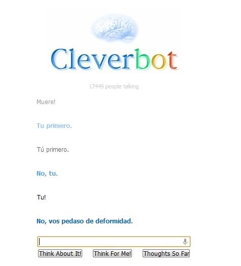Cleverbot... y sus cosas raras 0asd