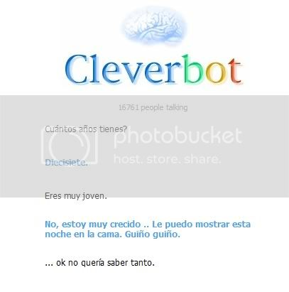 Cleverbot... y sus cosas raras XD