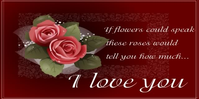 {{I Miss You My Love}} Floiwers
