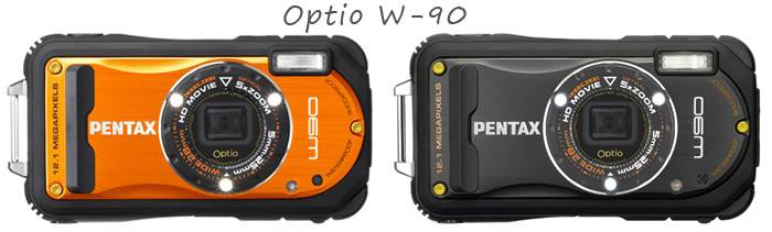 Successeurs du Optio W-90 : Optio WG-1 et Optio WG-1 GPS Optio_w90