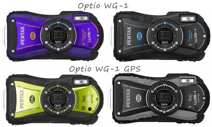 Successeurs du Optio W-90 : Optio WG-1 et Optio WG-1 GPS Optio_wg1