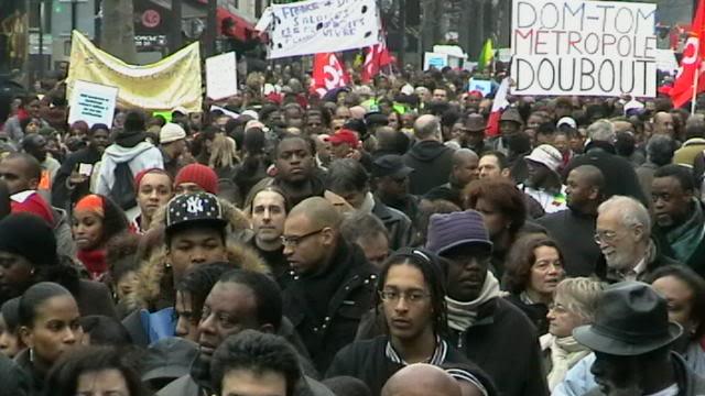 La GREVE, c'est pas que le 29 JANVIER 09-01-21ManifsolidaritGuadeloupe11