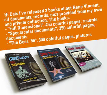 Guitton Yvonnick Gene Vincent books Hicats