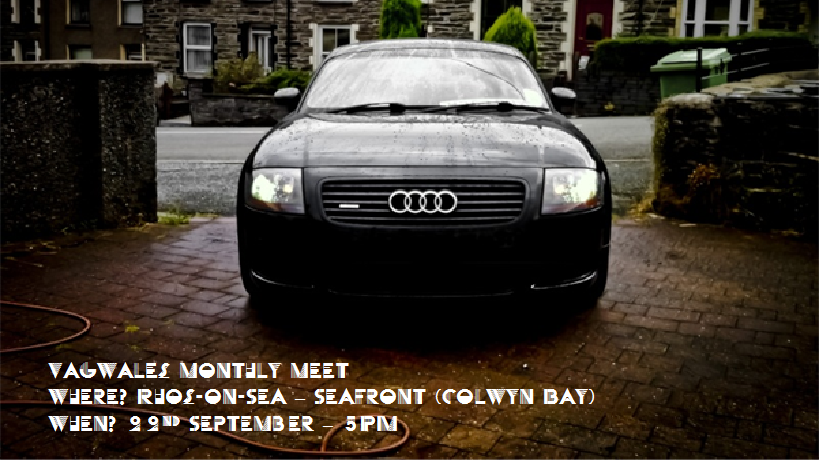 Meet: Sunday 23rd September 5pm @ Rhos - Colwyn seafront VagSeptmeet-1