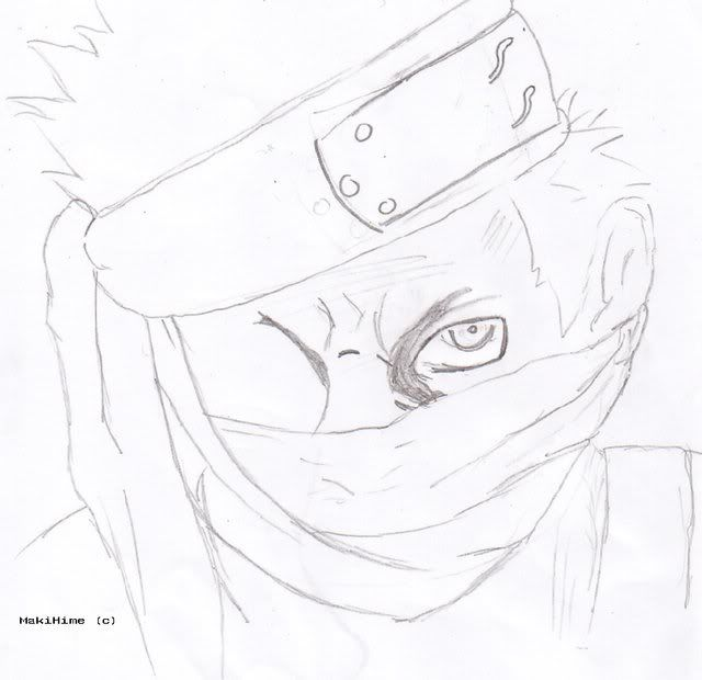Makii in art Zabuza