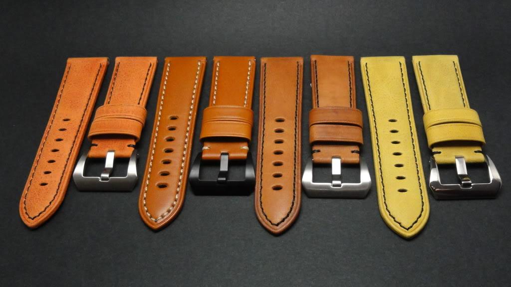 For sale : Strap Works >> 24/22, 24/24 & 26/26 calf leather straps & Big Decima buckles DSC02144
