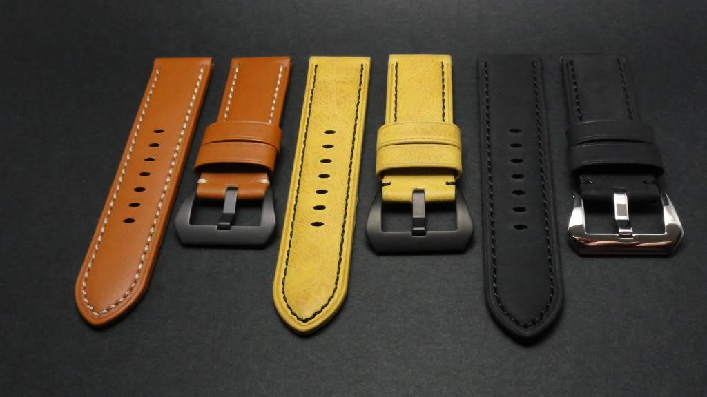 For sale : Strap Works >> 24/22, 24/24 & 26/26 calf leather straps & Big Decima buckles DSC02148
