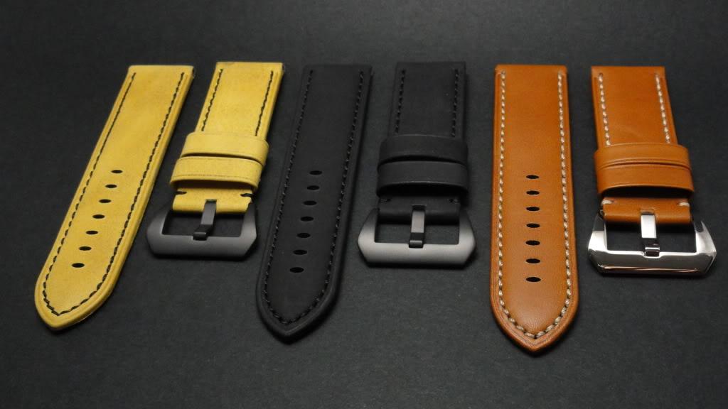 For sale : Strap Works >> 24/22, 24/24 & 26/26 calf leather straps & Big Decima buckles DSC02151