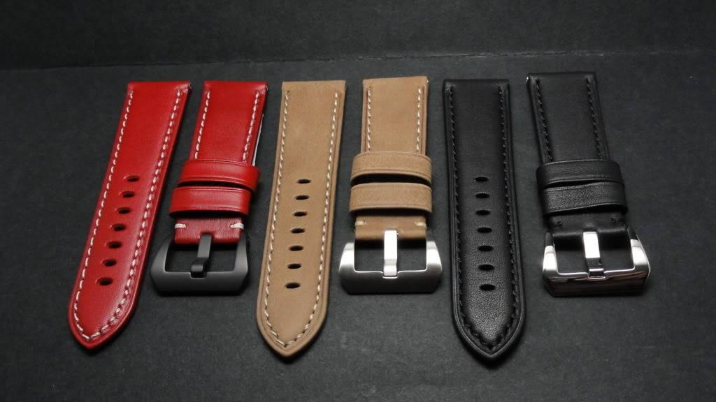 For sale : Strap Works >> 24/22, 24/24 & 26/26 calf leather straps & Big Decima buckles DSC02565